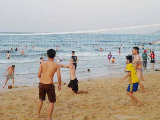 Bóng chuyền bãi biển Thiên Cầm
